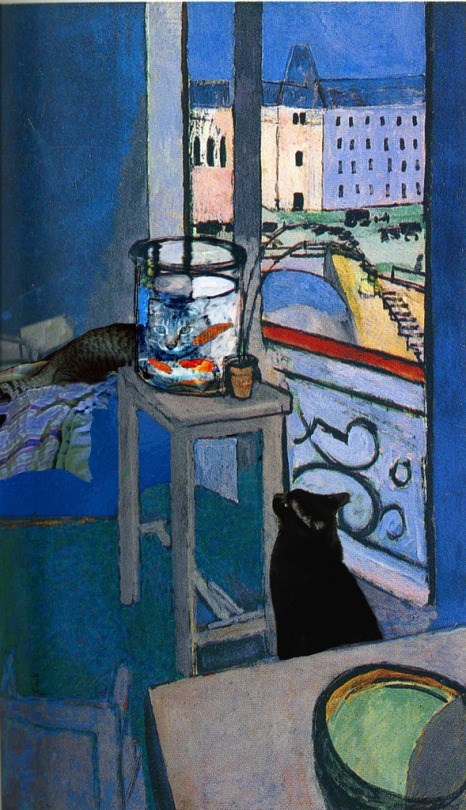 Henri Matisse (1869-1954), Goldfish With Cats