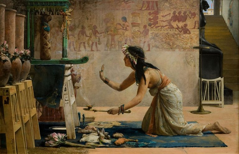 John Weguelin, The Obsequies Of An Egyptian Cat