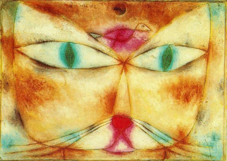 Paul Klee, Cat And Bird