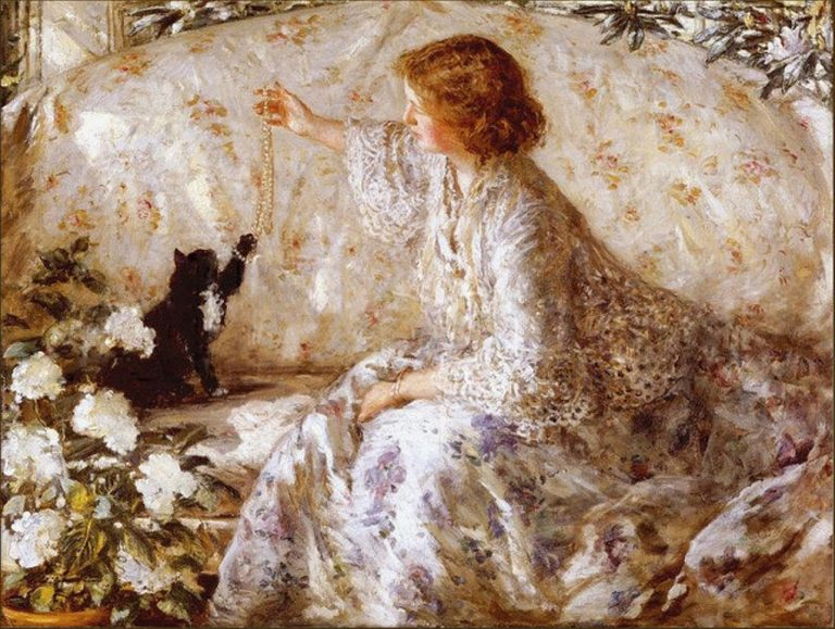 Philip Wilson Steer, Hydrangeas