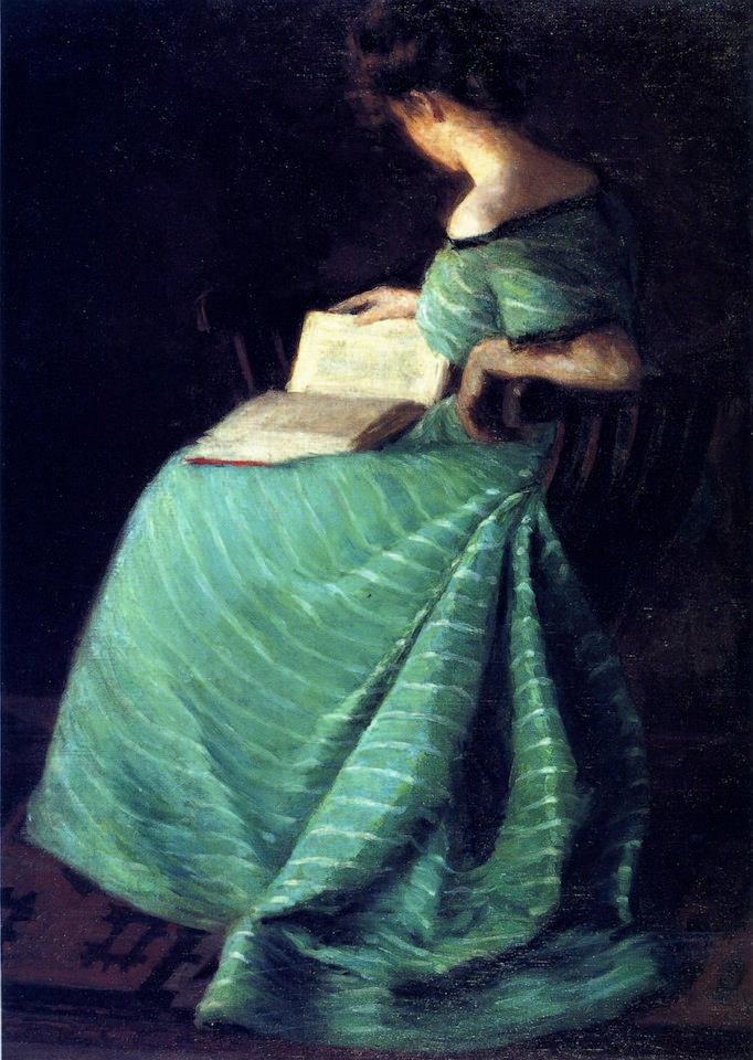 Sara Hayden, Girl In Green, 1899