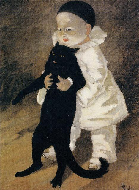 Théophile Alexandre Steinlen (1859-1923), Pierrot Et Le Chat