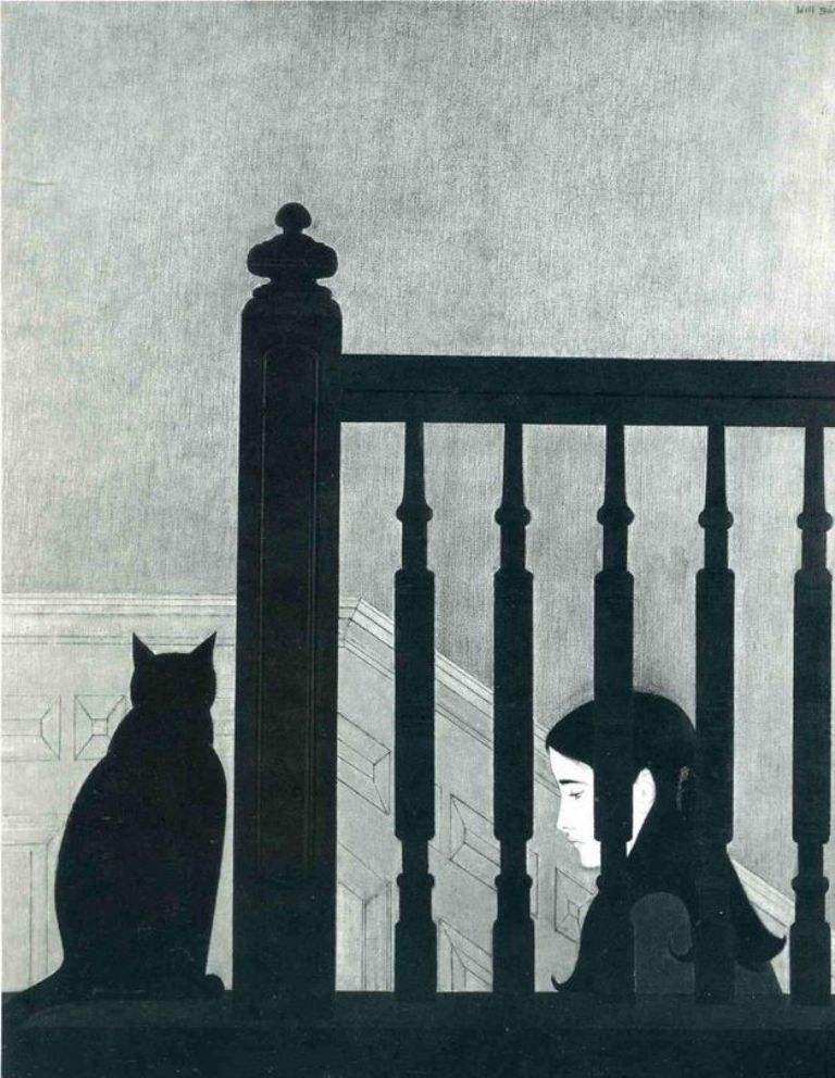 W. Barnet, The Bannister, 1981