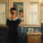 At the mirror – 3